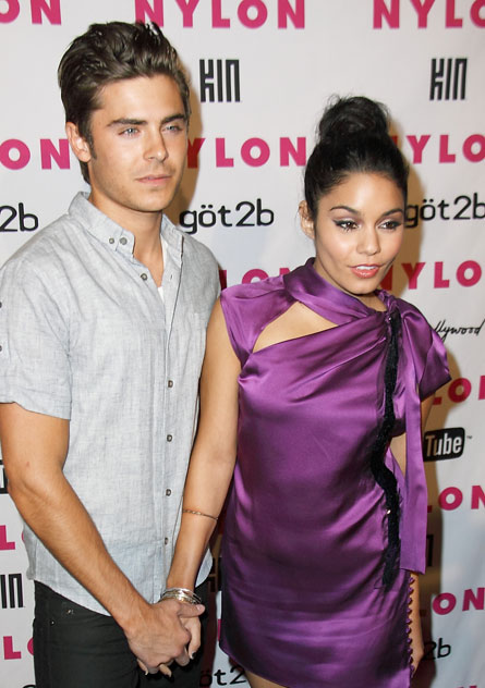 zac efron and vanessa married