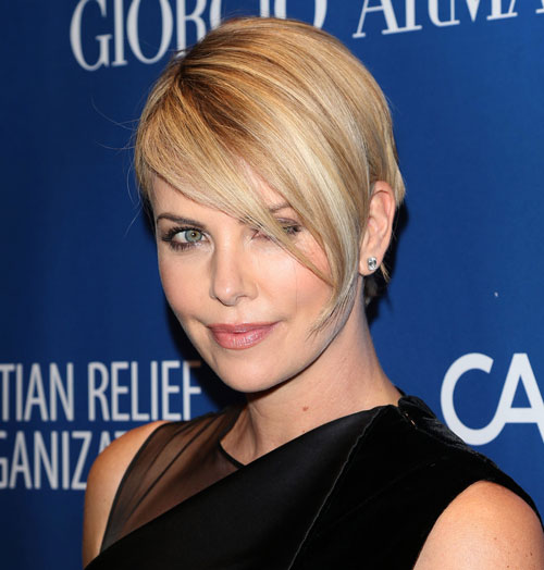 Picks of charlese theron pussy #14