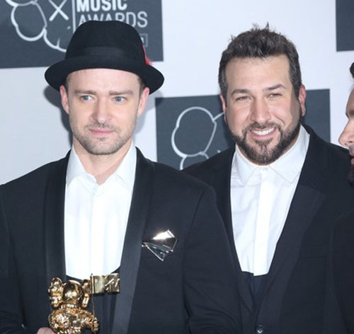 Joey Fatone Opens His Fat Mouth About The TimberFetus Growing In Jessica Biel's Womb