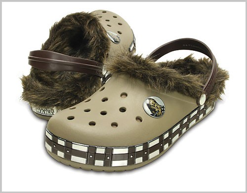 Presented Without Comment: The Star Wars™ Chewbacca™ Crocs