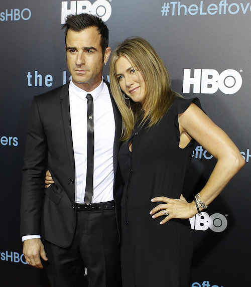Jennifer Aniston And Justin Theroux Made Their First Appearance Since Getting Married