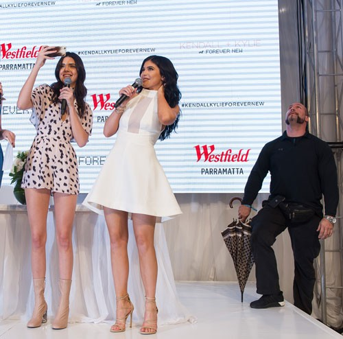 Kendall And Kylie Jenner Almost Got Egged And Tomato'd In Australia
