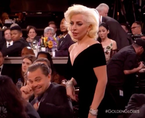 Leonardo DiCatchAHo Explains The Face He Made When Lady Gaga Won
