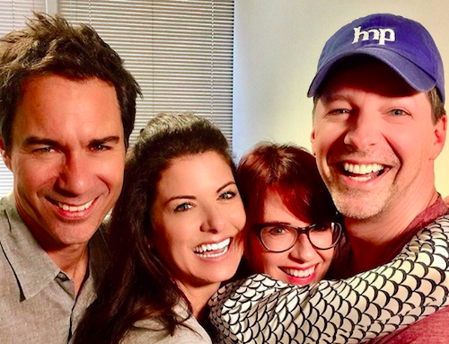 "Open Post: Hosted By The ""Will & Grace"" Cast Having A Reunion"