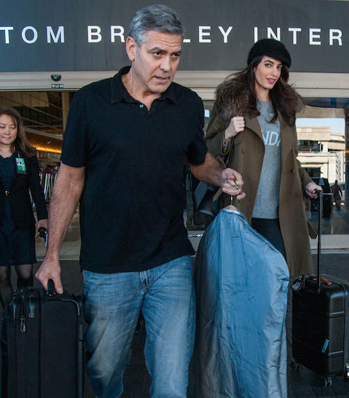 "George And Amal Clooney Are Retiring From Visiting ""Dangerous"" Places"