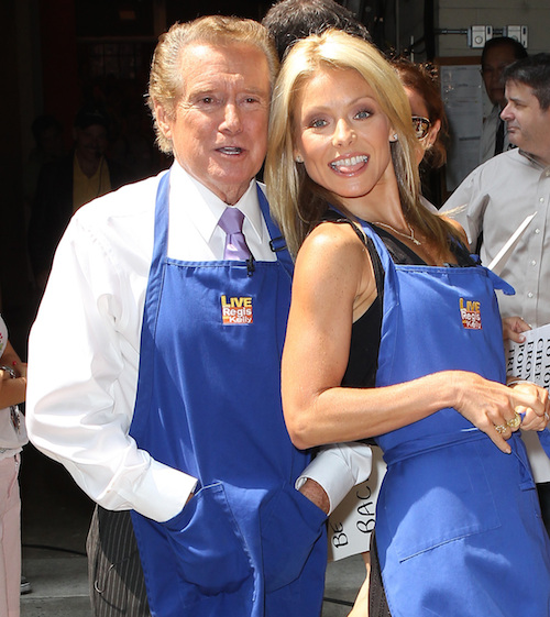 Things Are Weird Between Regis Philbin And Kelly Ripa (UPDATE)