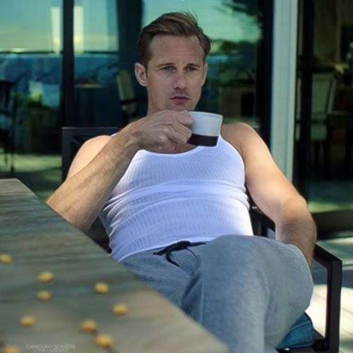 "The Emmy Goes To…. Alexander Skarsgard's ""Peen"" For Its Performance In ""Big Little Lies"""