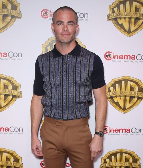 Chris Pine Shaved His Head: Would You Hit It?