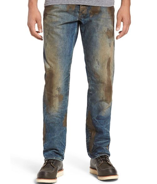 Open Post: Hosted By These Ridiculous $425 Fake Mud-Smeared Jeans