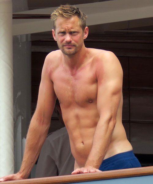 Open Post: Hosted By Alexander Skarsgard's Sunburnt Nips