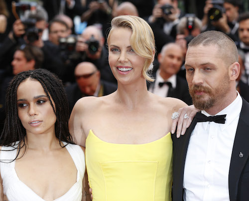 "Zoe Kravitz Confirms Charlize Theron And Tom Hardy Didn't Get Along On The Set of ""Mad Max"""