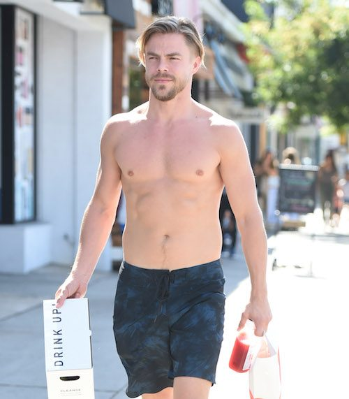 Open Post: Hosted By Derek Hough Doing Some Topless Shopping
