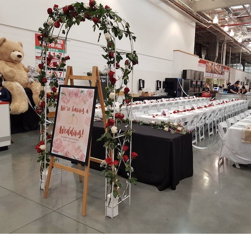 Open Post: Hosted By The Costco Wedding Of Miss Tina's Dreams