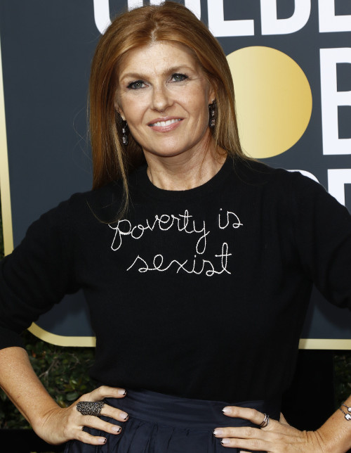 Twitter Came With Pitchforks For Connie Britton's Golden Globes Sweater