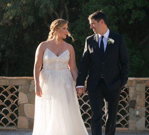 Amy Schumer Got Married To Her Boyfriend Of Three Months