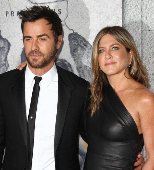 "Brace Yourselves For The ""Jennifer Aniston Is Crying Heartbroken Tears On Brad Pitt's Shoulder "" Stories, Because She And Justin Theroux Have Split Up"