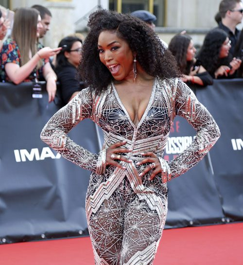 "Open Post: Hosted By Angela Bassett Serving Bedazzled Squished Chichis At The Paris ""Mission: Impossible – Fallout"" Premiere"