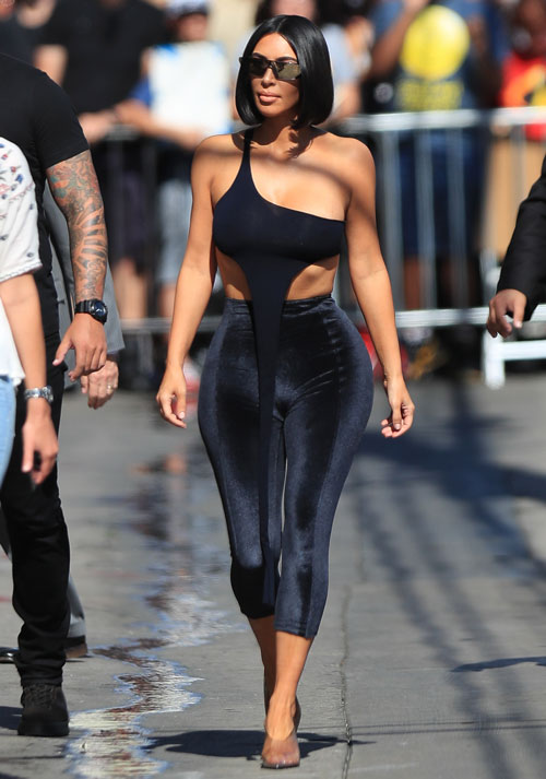 Dlisted Kim Kardashian Brags About How Thin She Is And Twitter Got