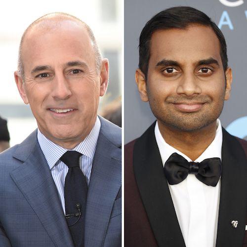 Matt Lauer And Aziz Ansari Might Also Be Plotting Their Comebacks Too