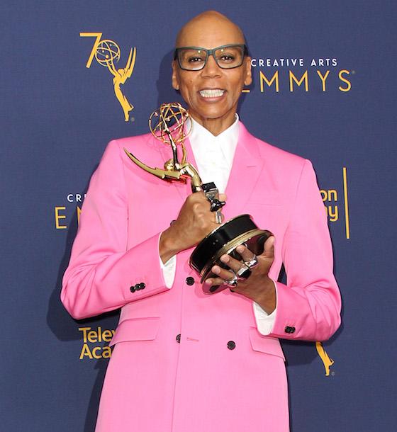 RuPaul Won His Third Consecutive Emmy