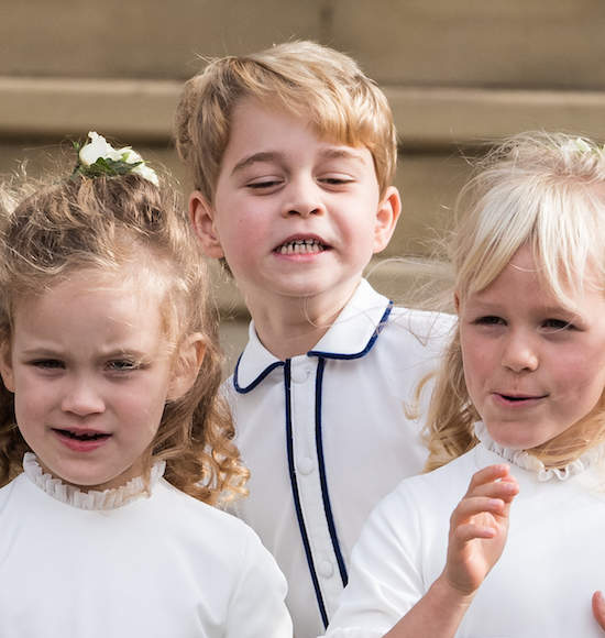 Prince George Went Looking For Boogers At