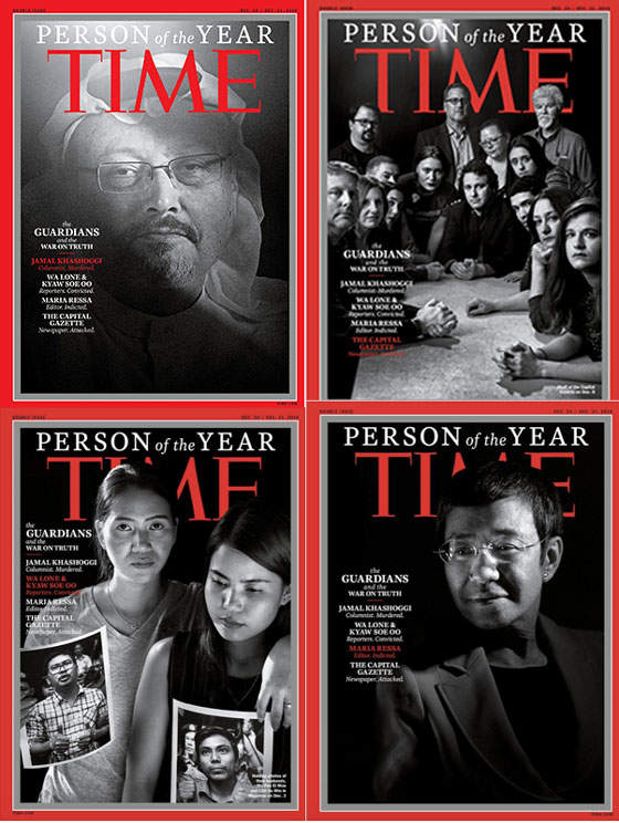 """Time Magazine Passed Up Donald Trump To Honor Murdered And Imprisoned Journalists As The """"Person Of The Year"""""""