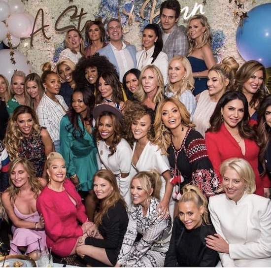 "Andy Cohen's Baby Shower Turned Into A ""Real Housewives"" Circuit Party"