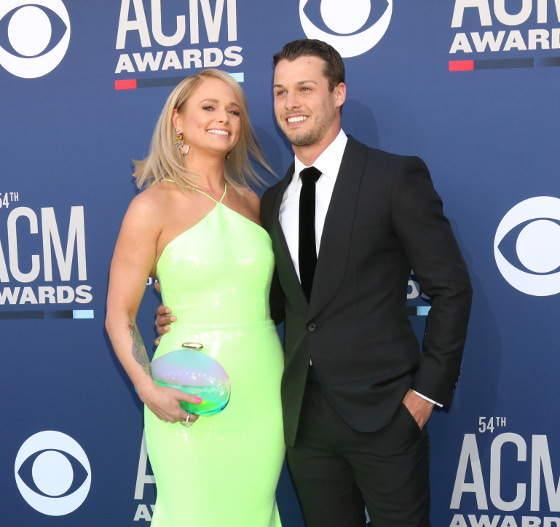Miranda Lambert Showed Up To The ACM Awards With Her Shiny New Husband