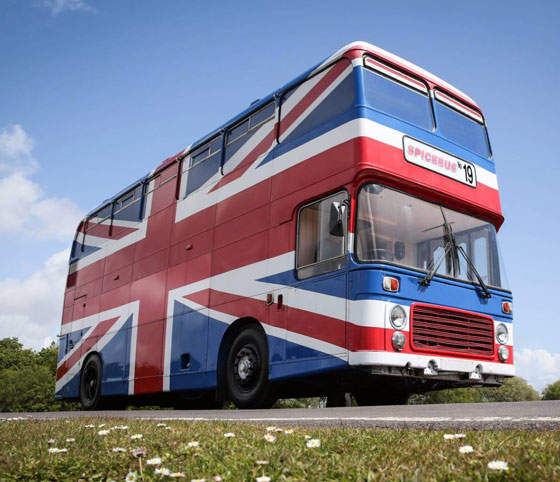 Open Post: Hosted By The Spice Girls Airbnb Bus