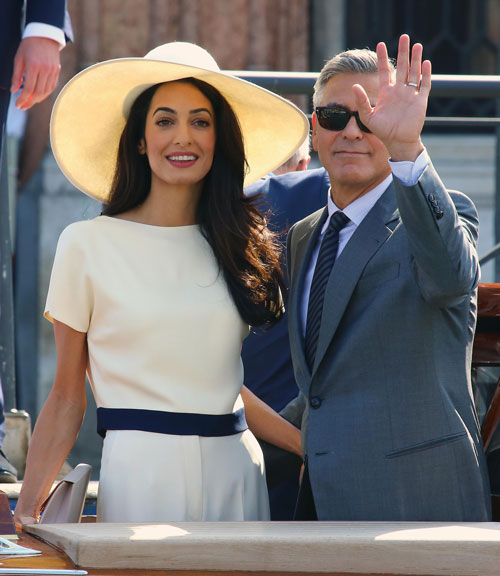 George Clooney And Amal Alamuddin's Wedding Weekend Spectacle Is Finally Over