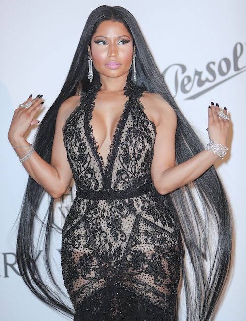 Nicki Minaj Brought Rich Vampire Realness To The AmfAR Gala