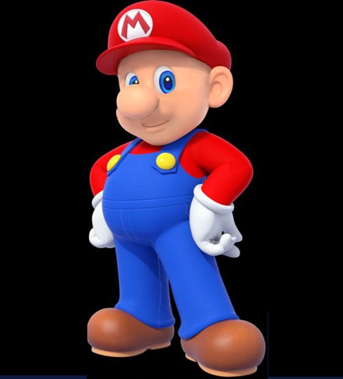 Image result for hairless mario