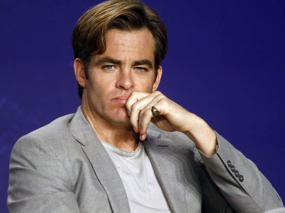 Chris Pine Doesn't Mind That The Internet Slobbered Over His Naked Body