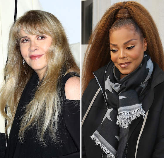 Stevie Nicks And Janet Jackson Have Been Nominated For A Spot In The 2019 Rock & Roll Hall Of Fame