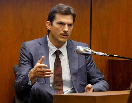 Ashton Kutcher Testified At The Trial Of An Alleged Serial Killer Who Is Accused Of Murdering His Girlfriend