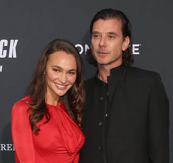 """Gavin Rossdale And His 26-Year-Old Girlfriend Made Their """"Red Carpet"""" Debut"""