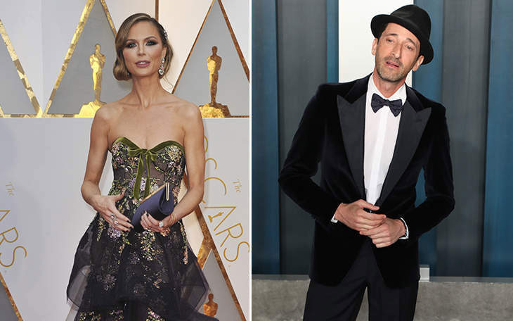 Georgina Chapman And Adrien Brody Are Still A Thing