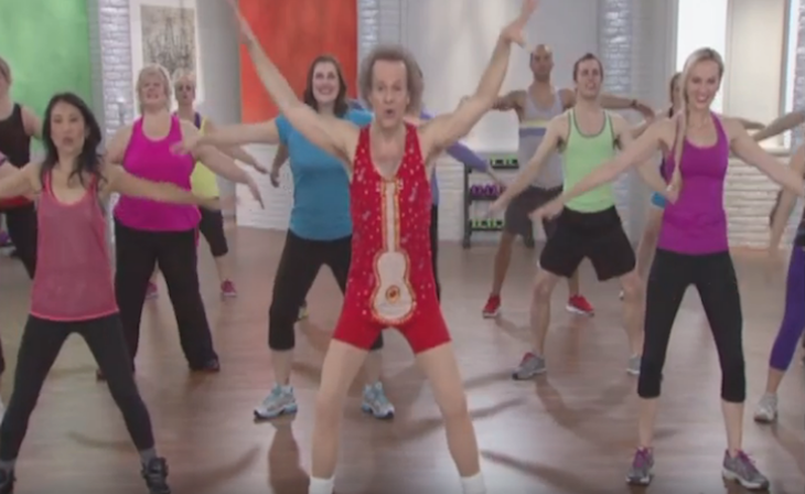 Open Post: Hosted By The Return Of Fitness Icons Jane Fonda And Richard Simmons