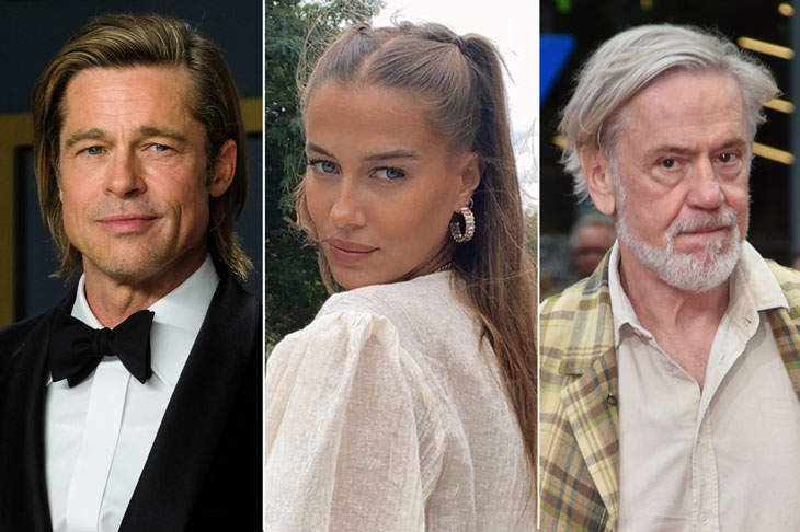Brad Pitt's Girlfriend, Nicole Poturalski, Reportedly Has A Husband And Their Marriage Is Open