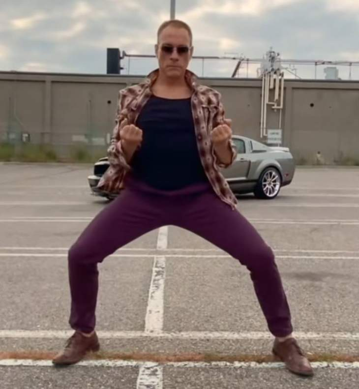Open Post: Hosted By Jean Claude Van Damme Dancing In An Empty Parking Lot