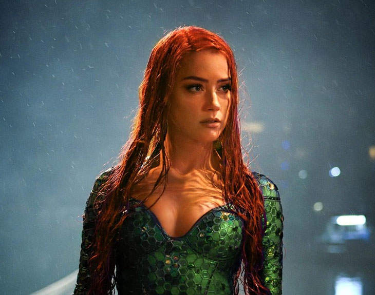 "Amber Heard Has Reportedly Been Fired From ""Aquaman 2"" For Breaking Her Contract"